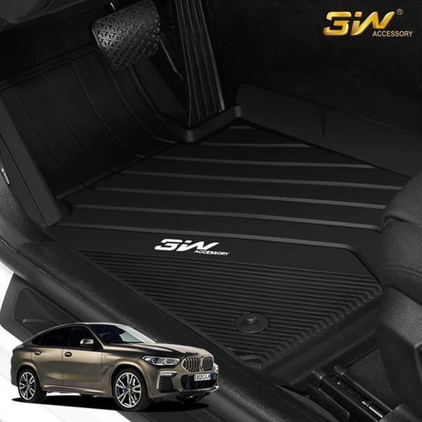 BMW 뉴X6 G06 3W 에코라이너 3D TPE 카매트 카 차 발 매트 바닥 발판 깔판