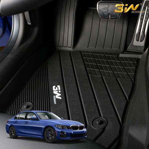 BMW 3시리즈 G20 3W 에코라이너 3D TPE 카매트 카 차 발 매트 바닥 발판 깔판