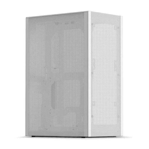 MESHLICIOUS 강화유리 with PCIe3.0 White (미니ITX)