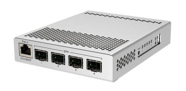 마이크로틱 CRS305-1G-4S+ [스위칭허브/4포트/1000Mbps]
