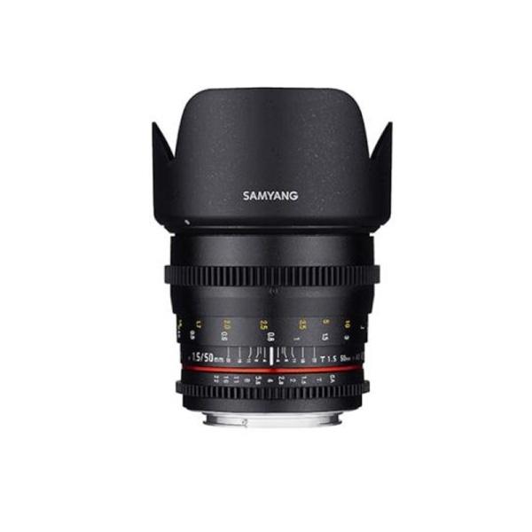 삼양 VDSLR 50mm T1.5 풀프레임용 표준렌즈 카메라 영상렌즈
