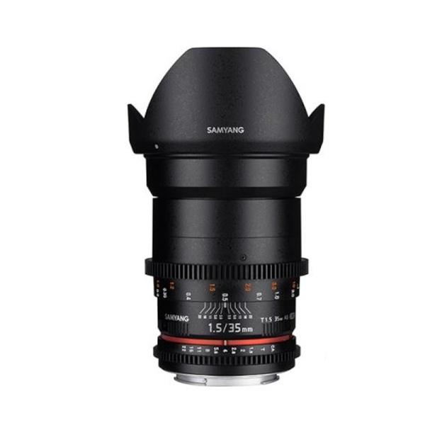 삼양 VDSLR 35mm T1.5 ll 풀프레임용 광각렌즈 카메라 영상렌즈