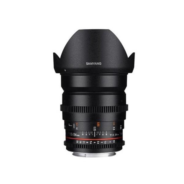 삼양 VDSLR 24mm T1.5 ll 풀프레임용 광각렌즈 카메라 영상렌즈