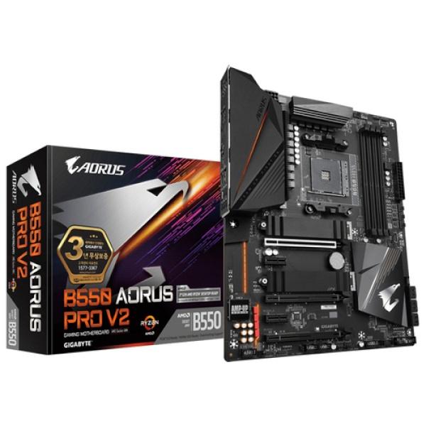 B550 AORUS PRO V2 제이씨현 (AMD B550/ATX)