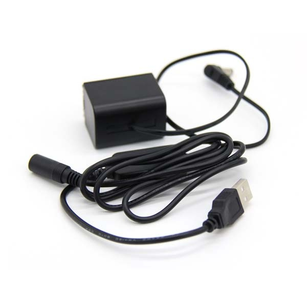소니 USB타입 더미배터리 커플러 NP-FV100