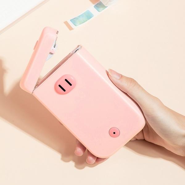 미니 라벨프린터 핑크돼지D30S (203dpi)