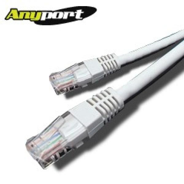 [Anyport] 애니포트 CAT.5E UTP 랜케이블 [3M/그레이] [AP-5UTP-3M(G)]