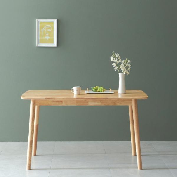 제이픽스 레이즈 원목 디자인 1300 4인식탁 (단품)