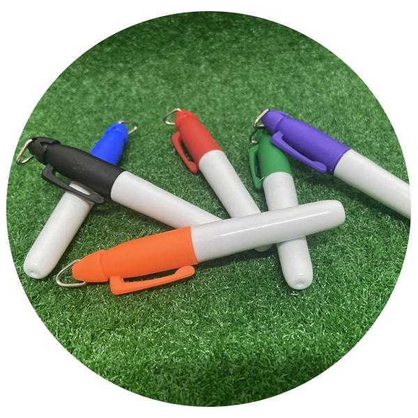 [골프네임펜] 골프 볼라이너 전용 마킹펜 6종 택1
