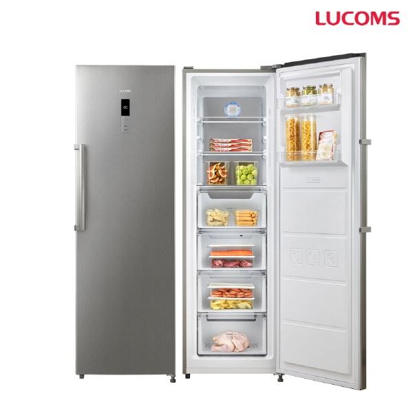 루컴즈전자 F265K06-S 멀티 냉동고 슬림디자인 간접냉각방식 이지핸들적용