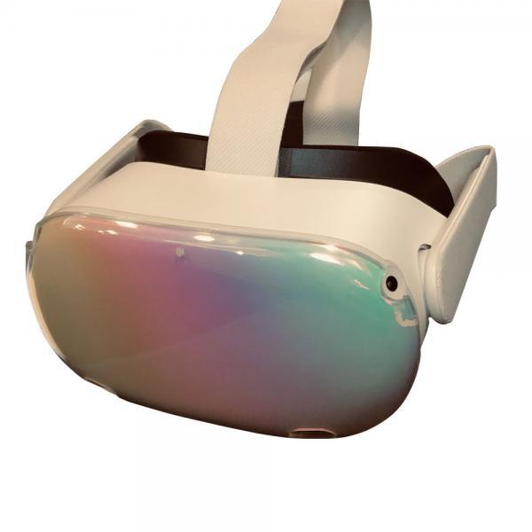 오큘러스 퀘스트2 헤드 전면 보호 커버 오로라 색상 VR 악세사리