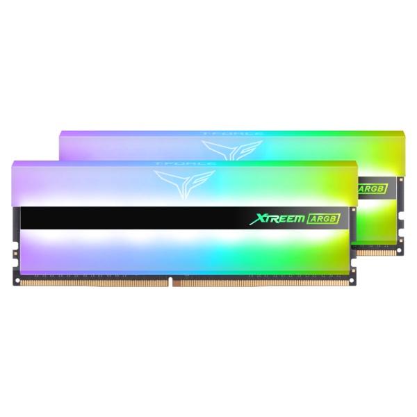 팀그룹 T-Force DDR4 64G PC4-25600 CL16 XTREEM ARGB 화이트 (32Gx2) 서린