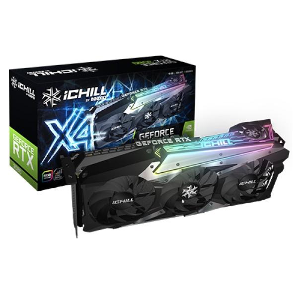 iChiLL GeForce RTX 3080 D6X 10GB X4 LHR