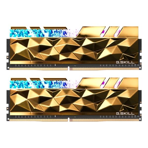 지스킬 DDR4 16G PC4-32000 CL14 Trident Z ROYAL Elite 골드 (8Gx2)
