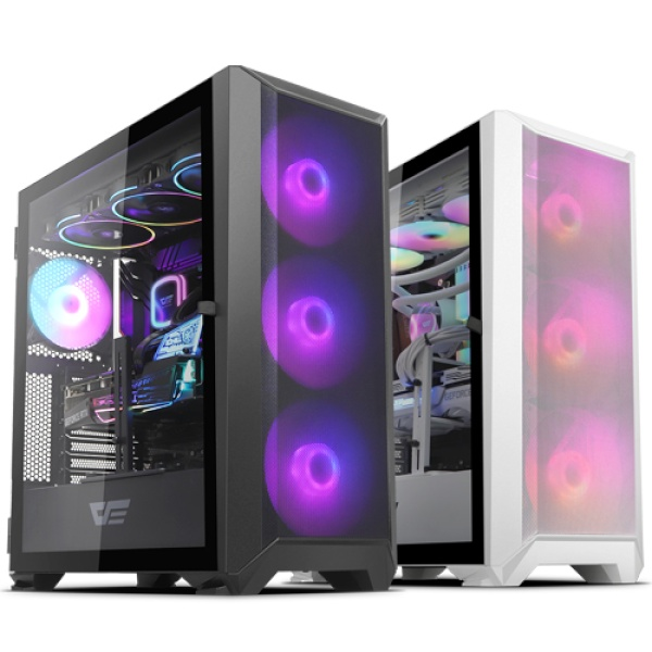 DLX23 NEO MESH RGB 강화유리 블랙 (미들타워)