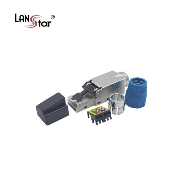 랜스타 Cat.8 FTP Tooless 모듈러 콘넥터 [LS-M850N]