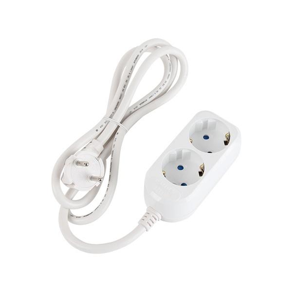 SAFE 멀티탭 [2구/16A/접지] [0.5M] [NM-SF205]