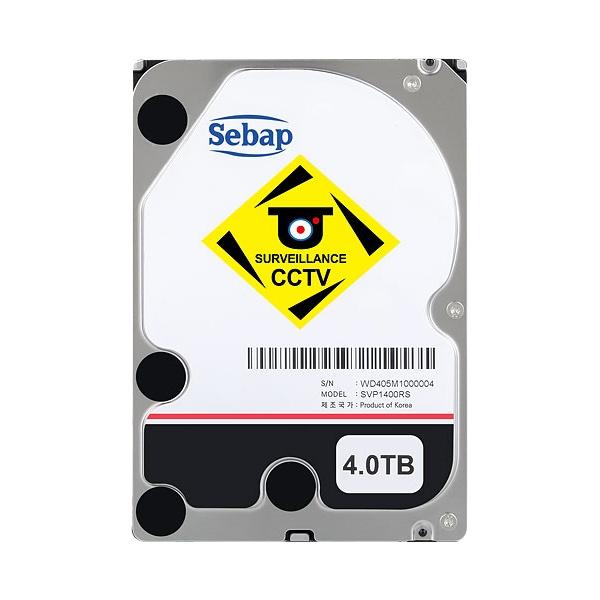 BUSCAR CCTV HDD SVP1400RS (3.5HDD/ SATA3/ 5400rpm/ 64MB/ PMR) [단일]