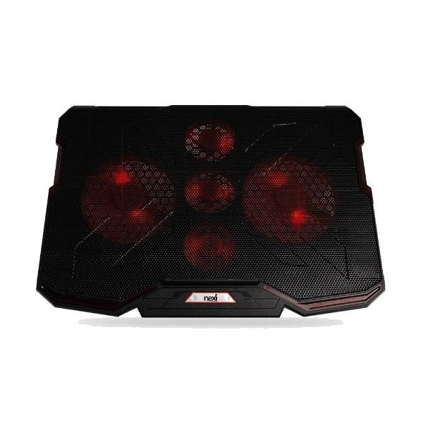 노트북쿨러받침대, NX-NC105 [NX1027] [블랙]
