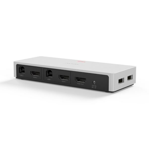 이지넷 NEXT-7502KVM-PIP [KVM스위치/2:1/USB/HDMI]