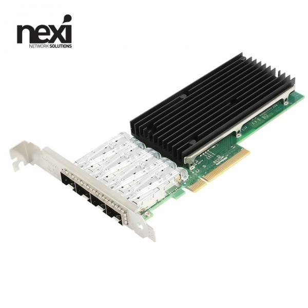넥시 NX-XL710-4SFP+ (유선랜카드/PCI-E/10G) [NX1204]