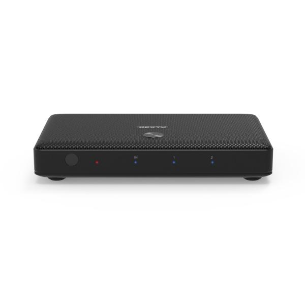 이지넷 NEXT-902SP4K60 [모니터 분배기/1:2/HDMI/오디오 지원]