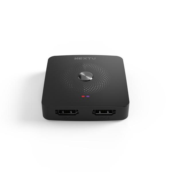 이지넷 NEXT-3222SPW4K [모니터 분배기/2:1/양방향/HDMI/오디오 지원)