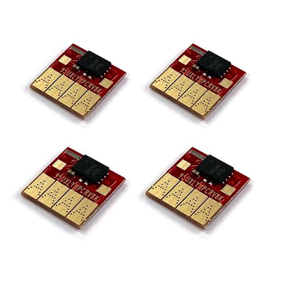 HP7720/7740 카트리지용 무한칩 4색세트