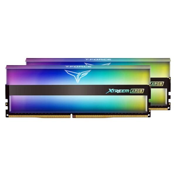 팀그룹 T-Force DDR4 64G PC4-25600 CL16 XTREEM ARGB (32Gx2) 서린
