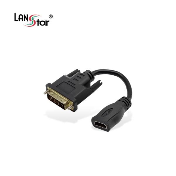 랜스타 DVI to HDMI 케이블 젠더 0.15m [LS-DVI2HDG]