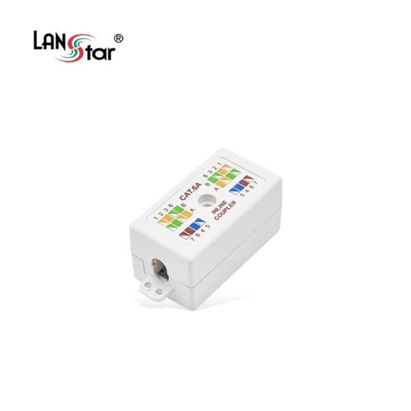 랜스타 Cat.6A UTP Inline 커플러 [LS-GIC-UEDWH]