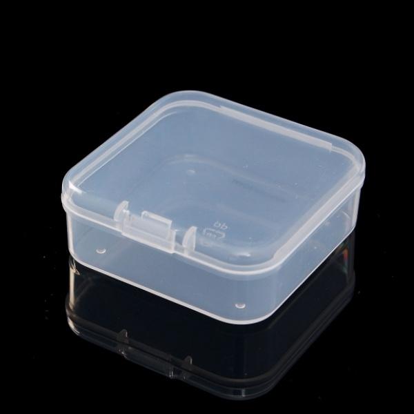 투명 플라스틱 미니 수납케이스(7.5x7.5cm) [GTS39432]