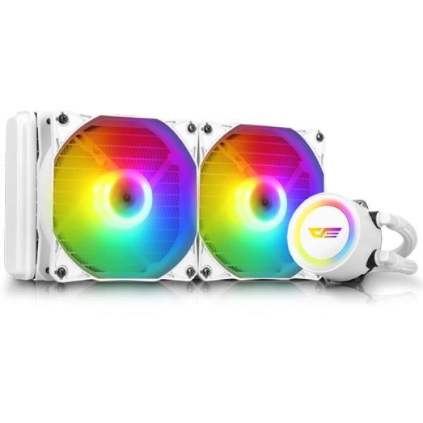 AURA DA-240 RGB (화이트) [CPU쿨러]