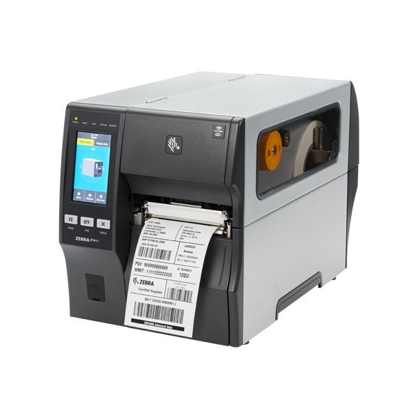 ZT-411 산업용 바코드프린터 (600dpi) [리와인더 장착]