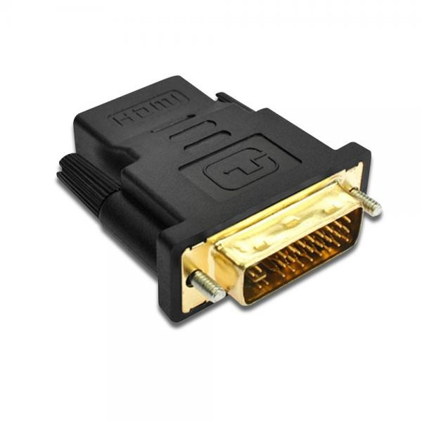 HDMI(F) to DVI(M) 듀얼 변환젠더 [T-DVI29M-HDMI-AF]