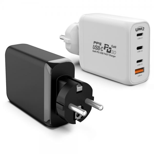 USB PPS PD C타입 고속 멀티 접지 충전기 노트북 아이패드 맥북 130PDGAN
