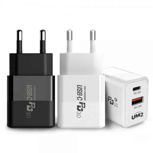 UM2 아이폰12 20W PD 3.0 맥세이프 고속 멀티 충전기 QCPD20W