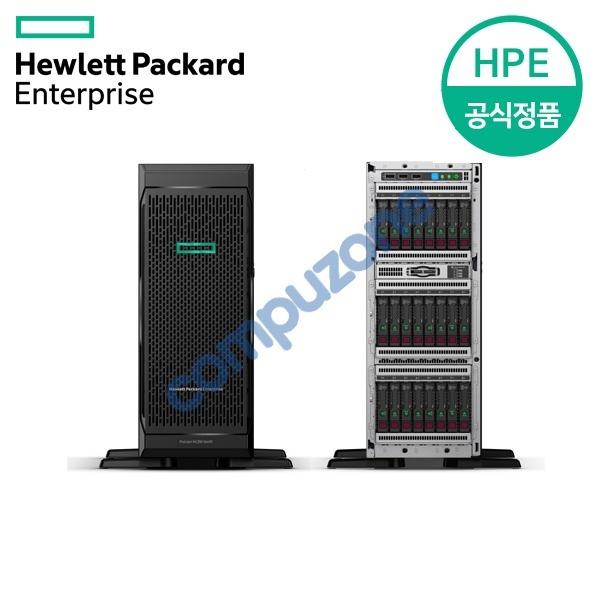 ML350 Gen10 TOWER 8SFF (P22094-371) [S4208x1/128GB/디스크미포함/P408i-a/1GbE 4P/800W]