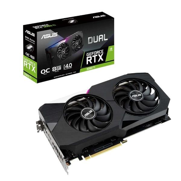 GeForce RTX 3060 Ti DUAL O8G V2 OC D6 8GB