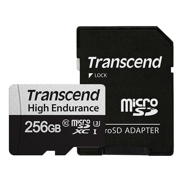 MicroSDXC, class10, UHS-1, High Endurance 350V MicroSDXC 256GB