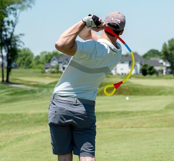 골프 스윙연습기 셀프스윙마스터 버기리연습로프 비거리 방향성 향상 골프연습용품