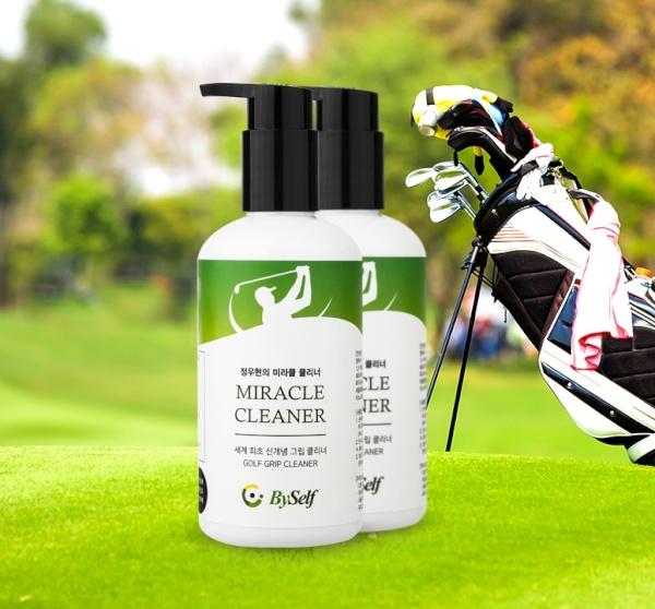 신개념 골프그립 클리너 미라클 클리너 골프그립관리 골프채그립 세척 자연성분