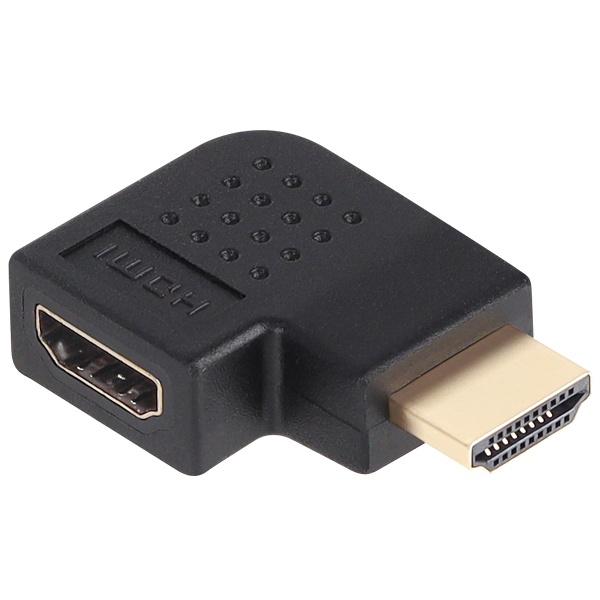 NETmate HDMI M/F 오른쪽 꺾임 젠더 [NMG014]
