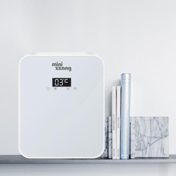 온도조절 미니냉장고 기숙사 원룸 사무실 음료수 냉온장고 mz-16
