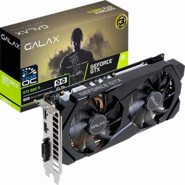 GeForce GTX 1660 Ti BLACK D D6 6GB