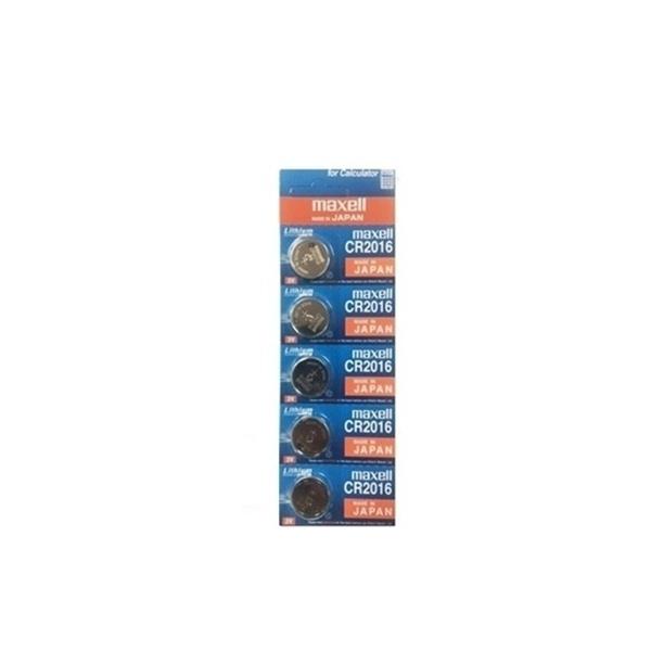 [리튬전지] CR-2016 (원산지:일본) [80mAh/5알]