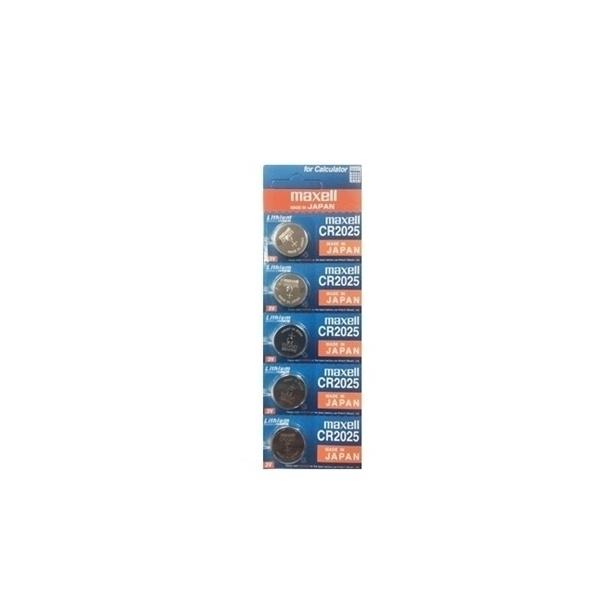 [리튬전지] CR-2025 (원산지:일본) [150mAh/5알]