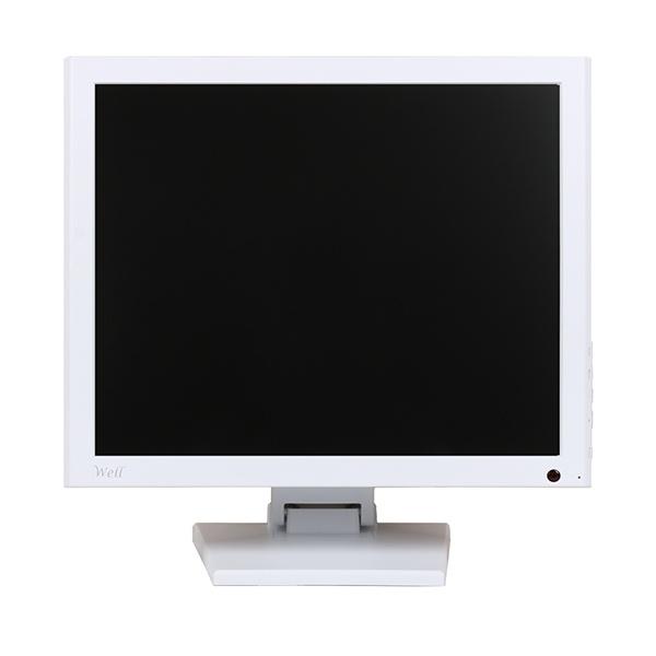 WELL 190ADV A 화이트 / 19형 / 동영상 광고용모니터