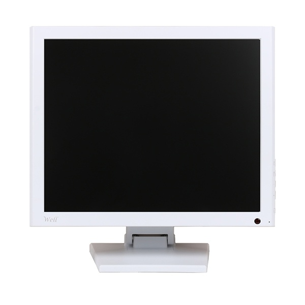 WELL 170ADV A 화이트 / 17형 / 동영상 광고용모니터