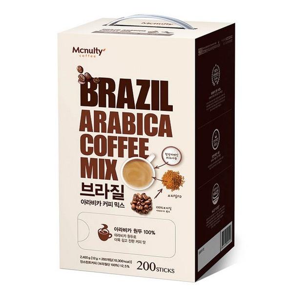 브라질 아라비카 커피믹스 200T 12gx200T